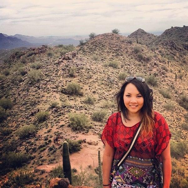 Photo taken at Sunrise Peak by Diana M. on 2/16/2014