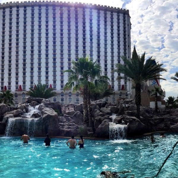 Excalibur Hotel Pool Slide