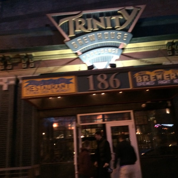 Photo taken at Trinity Brewhouse by Mia M. on 4/24/2015