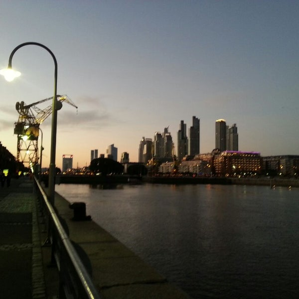 Photo taken at Puerto Madero by José C. on 6/15/2013