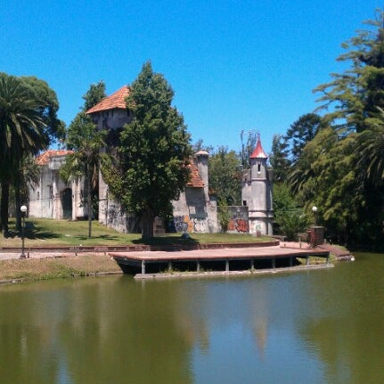 Photo taken at Parque José Enrique Rodó by Лена Ч. on 1/9/2013