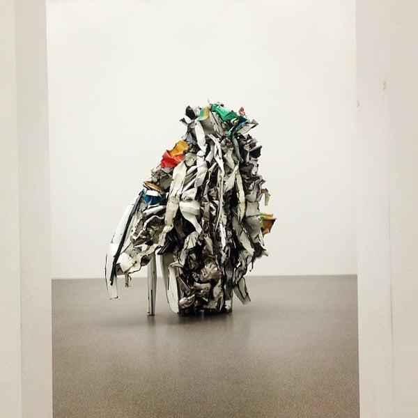 Photo taken at Pinakothek der Moderne by Merve İ. on 2/2/2013