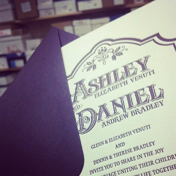 Photo taken at Dolce Press (Design & Letterpress) by Alexandra S. on 6/28/2013