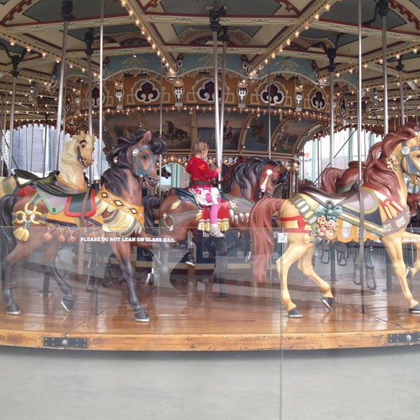 Photo taken at Jane's Carousel by Quirine on 4/18/2013