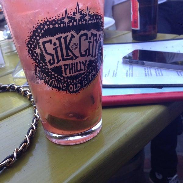 Photo taken at Silk City Diner Bar & Lounge by Bryana G. on 5/26/2013