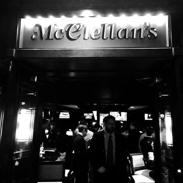 Photo taken at Mcclellan's Sports Bar by Neil L. on 4/29/2014