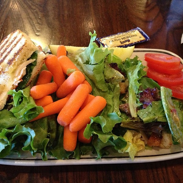Photo taken at Corner Bakery Cafe by Kathlyn A. on 5/3/2013