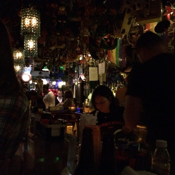Photo taken at The Cubbyhole Bar by Lary B. on 11/9/2014