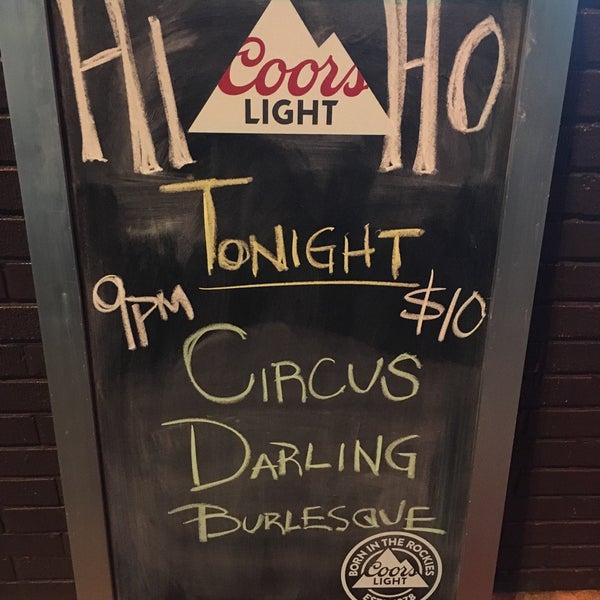 Photo taken at Hi-Ho Lounge by Sarah B. on 3/25/2016