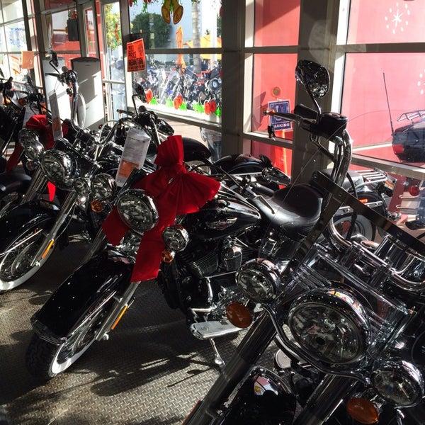 Photo taken at Orange County Harley-Davidson by Christian L. on 12/15/2013