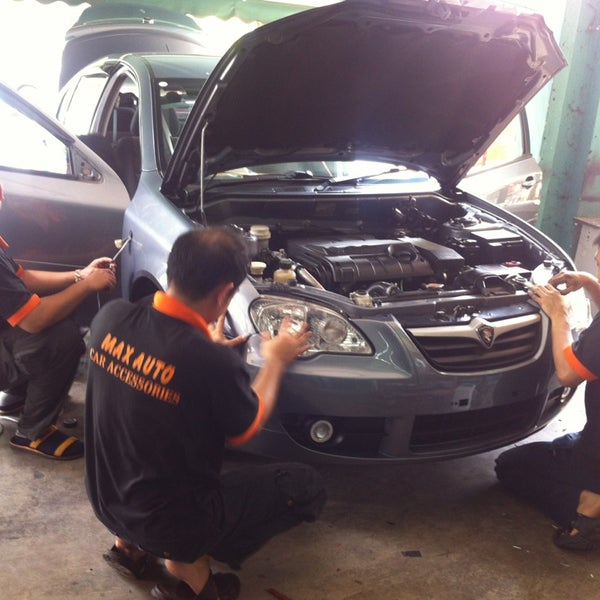 Photo Taken At Max Auto Car Accessories By Mohd Hizri Aliff S On