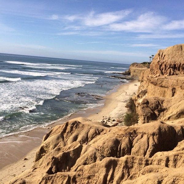 Foto tirada no(a) Sunset Cliffs Natural Park por Emily D. em 3/7/2014