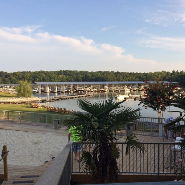Photo taken at Fish Tales Lakeside Grille by Emily D. on 8/3/2014