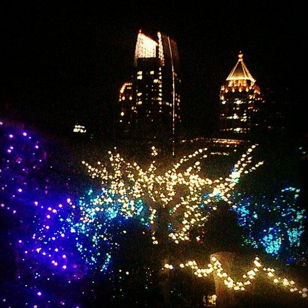 Photo taken at Atlanta Botanical Garden by Tamara N. on 11/22/2012