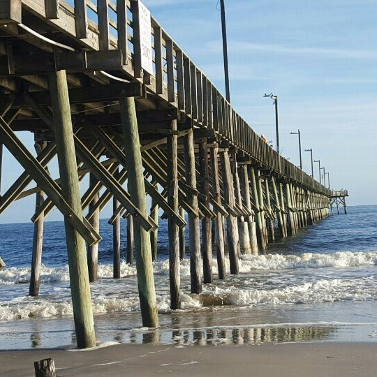 Sea view fishing pier pier in north topsail beach for Seaview fishing pier