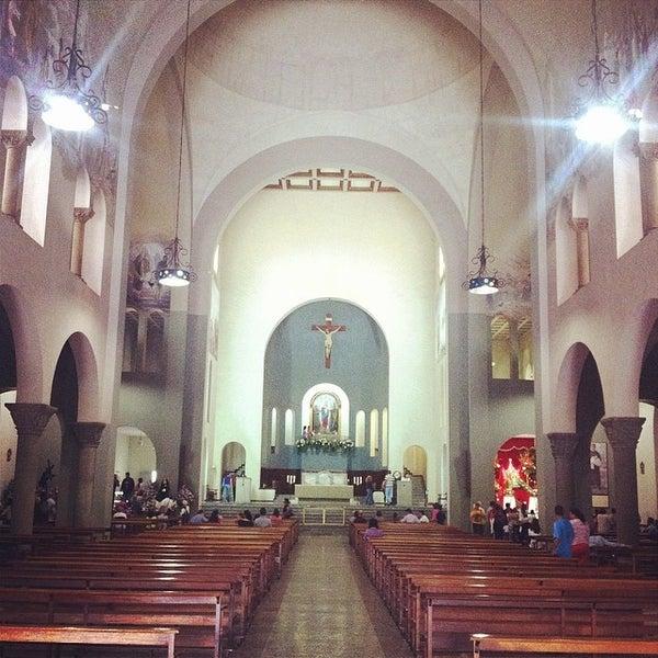 Photo taken at Iglesia Nuestra Señora De La Chiquinquira by Cesar Z. on 4/18/2014