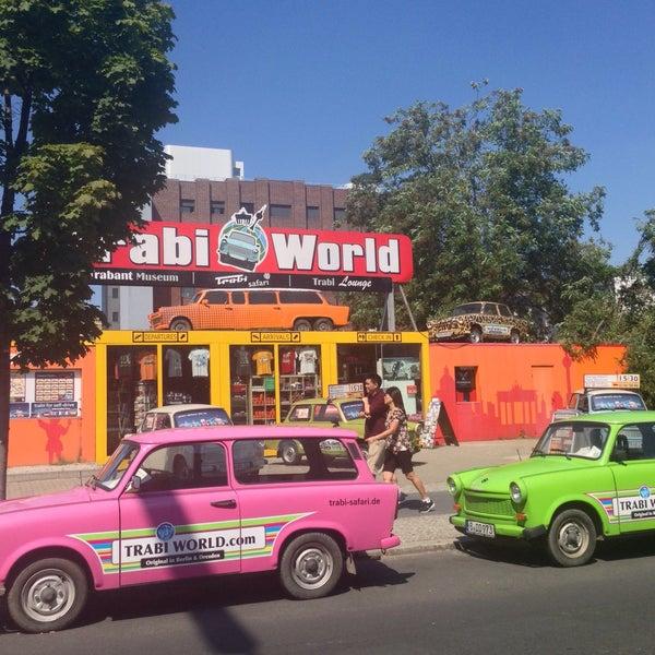 Das Foto wurde bei Trabi-Safari / Trabi-World von Dora P. am 8/6/2015 aufgenommen
