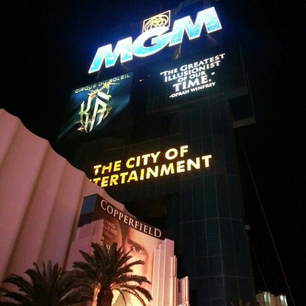 Photo taken at MGM Grand Hotel & Casino by Brian H. on 4/24/2013