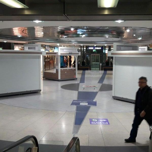 Das Foto wurde bei Promenaden Hauptbahnhof Leipzig von André M. am 11/13/2017 aufgenommen
