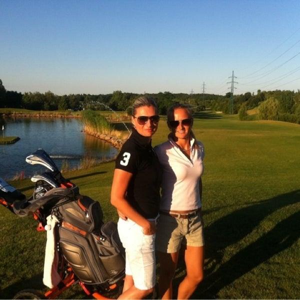 Photo taken at Golf Hostivař by Marta on 7/21/2013