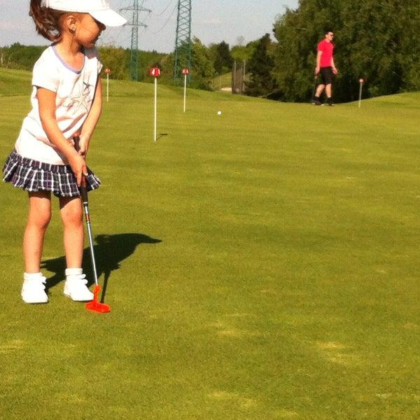 Photo taken at Golf Hostivař by Marta on 5/15/2013