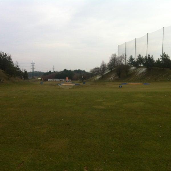 Photo taken at Golf Hostivař by Marta on 3/18/2013