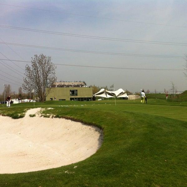 Photo taken at Golf Hostivař by Marta on 4/24/2013