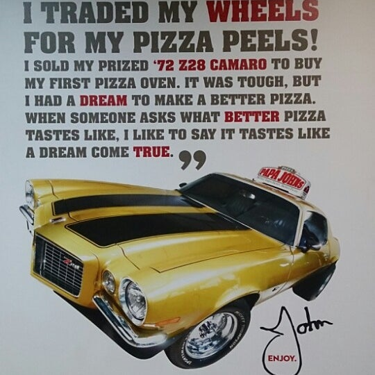 Photo taken at Papa John's by Juan Carlos M. on 3/29/2014