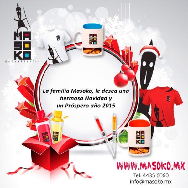 ¡Festejando la Navidad un rato ! En http://masoko.mx