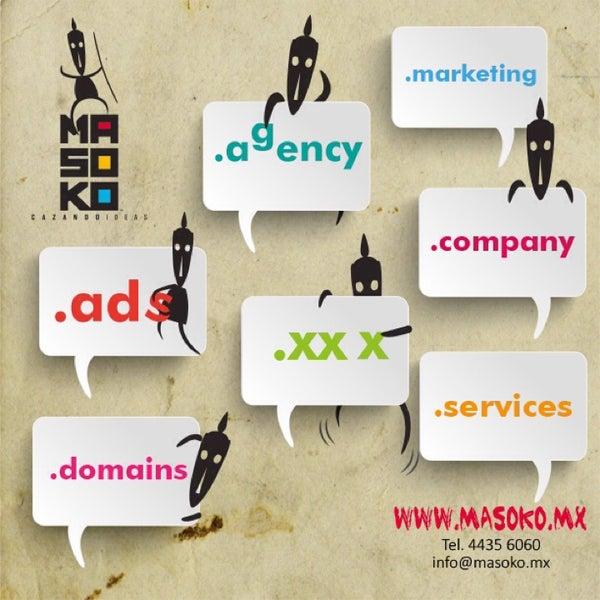 Nuevas extensiones de dominios...