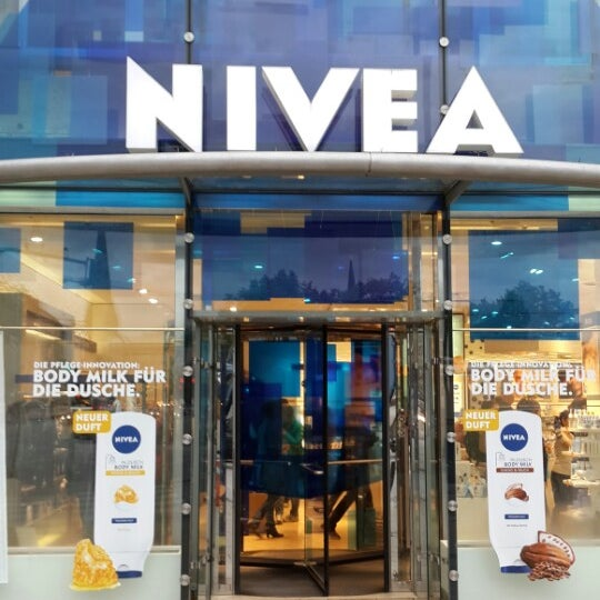 Nivea Haus Cosmetics Shop in Hamburg