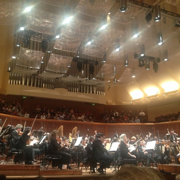 Photo taken at Louise M. Davies Symphony Hall by Anna S. on 1/13/2013