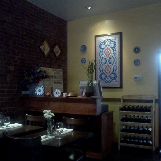 Photo taken at Hanci Turkish Cuisine by Sinem S. on 11/2/2012