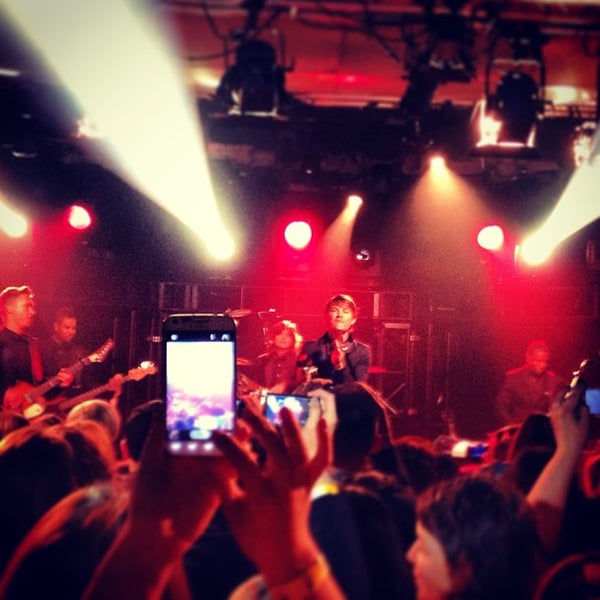 Photo taken at iHeartRadio Theater by Becca B. on 4/12/2013