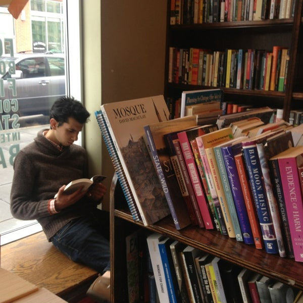 Photo taken at Busboys and Poets by RJ P. on 1/13/2013
