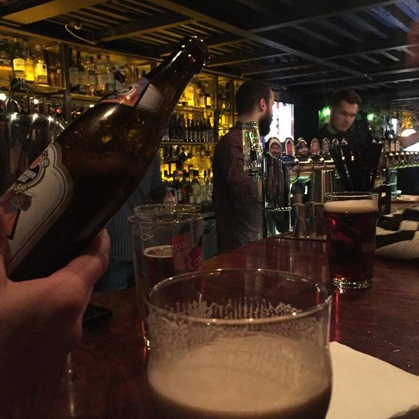 Photo taken at Haggis Pub & Kitchen by Julia K. on 3/21/2015