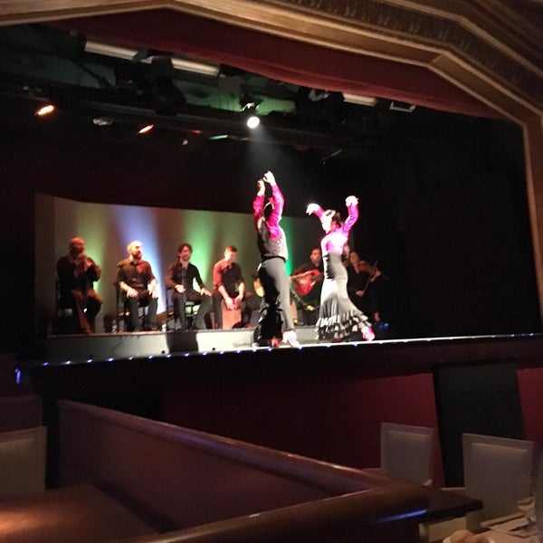 Photo taken at Palacio del Flamenco by Totta on 3/20/2016