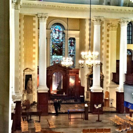Photo taken at Christ Church by Ritinha M. on 4/20/2014
