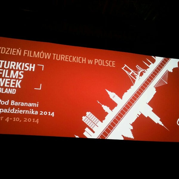 Photo taken at Kino Pod Baranami by Tarik on 10/5/2014