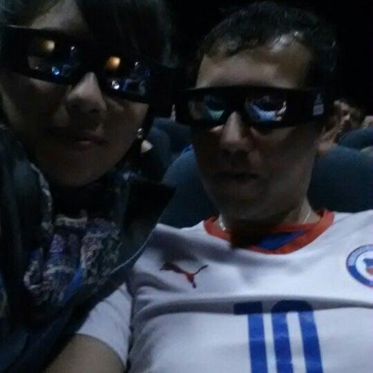 Photo taken at Cine Hoyts by Luis Rodrigo V. on 7/12/2014