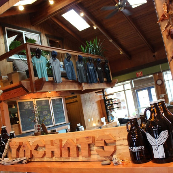 Photo taken at Yachats Brewing + Farmstore by Yachats Brewing + Farmstore on 4/15/2016