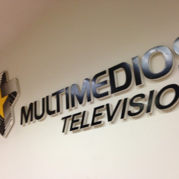 Photo taken at Multimedios Televisión by Mauricio A. on 6/27/2013