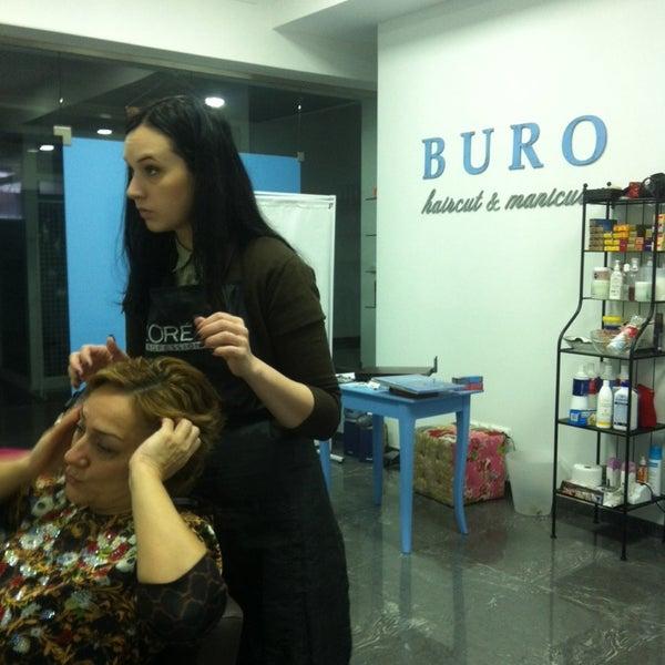 Buro salon barbershop in for Buro espagnol