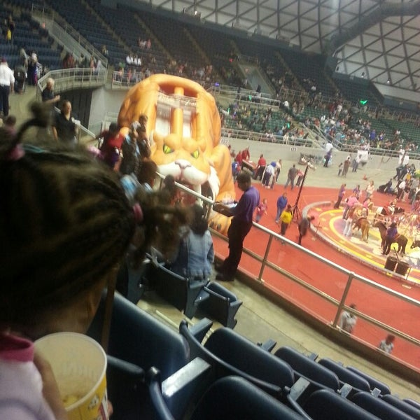 Photo taken at Bell County Expo Center by Aleshia L. on 11/16/2013