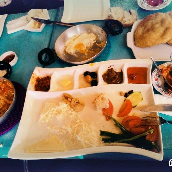 1/1/2016 tarihinde Gönül T.ziyaretçi tarafından Otlangaç Kahvaltı & Kafe'de çekilen fotoğraf