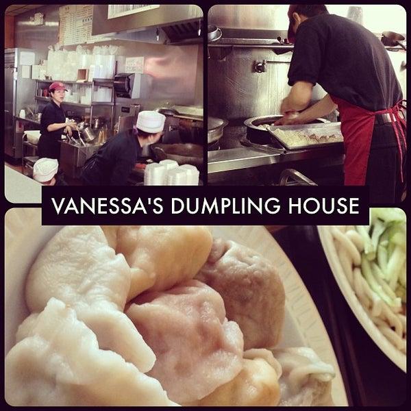 Photo taken at Vanessa's Dumpling House by Jo Y. on 4/24/2013
