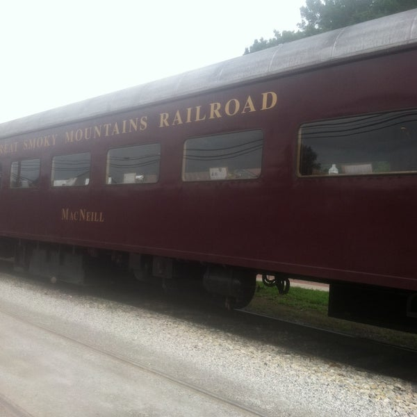 Photo taken at Great Smoky Mountain Railroad by Marie P. on 7/8/2015