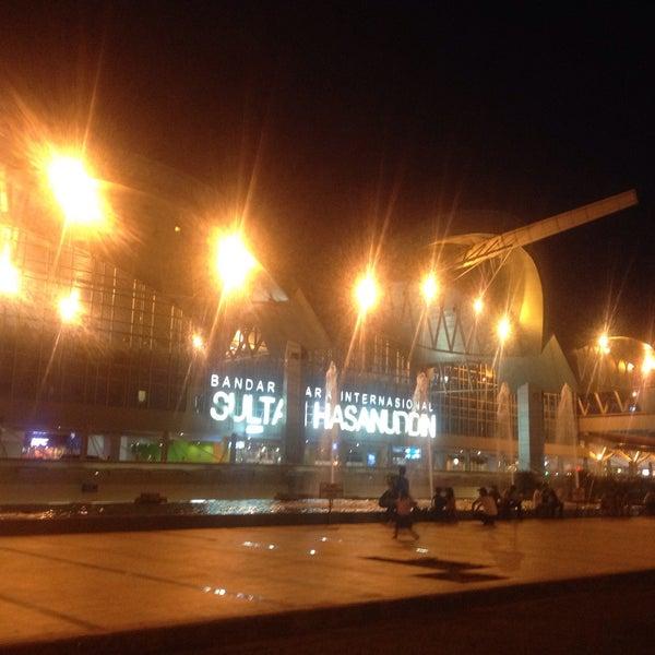 Photo taken at Sultan Hasanuddin International Airport (UPG) by Daeng F. on 4/18/2015