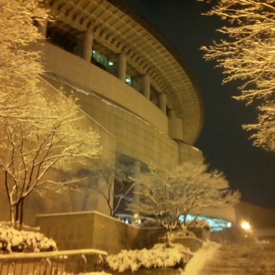 Photo taken at Seoul Arts Center by Jinho C. on 12/5/2012
