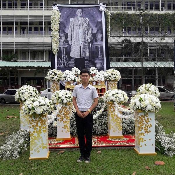 Photo taken at Chiang Mai Rajabhat University by สุกนต์ธี ณ. on 10/29/2016